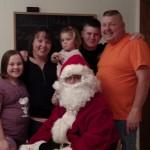 Santa Comes December 2015