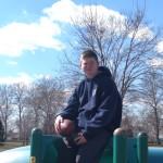Michael chillin at the park_Feb 2016