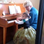 Rylee playing piano with Miss Karen_Nov 2015